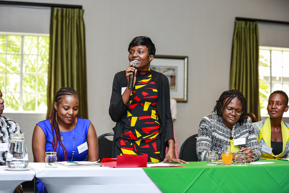 Alice Saisha from Zambia tells her story of transformation through education