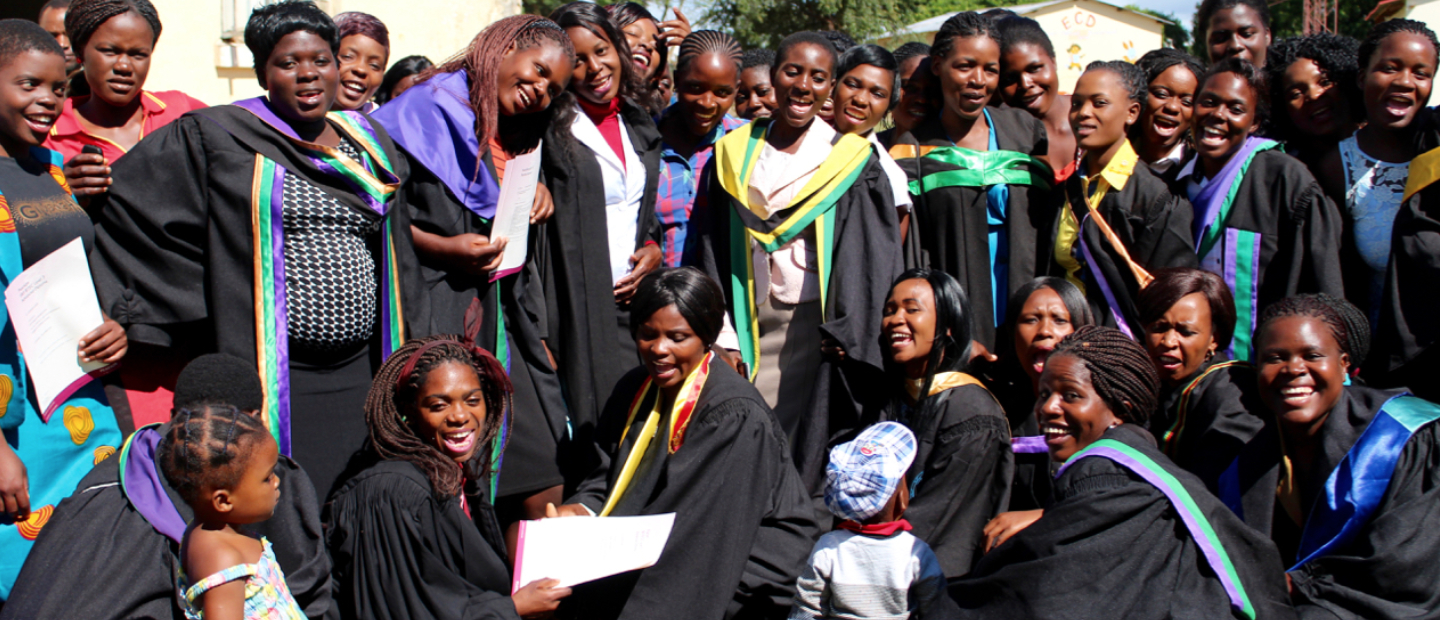 The young women graduates fighting for education