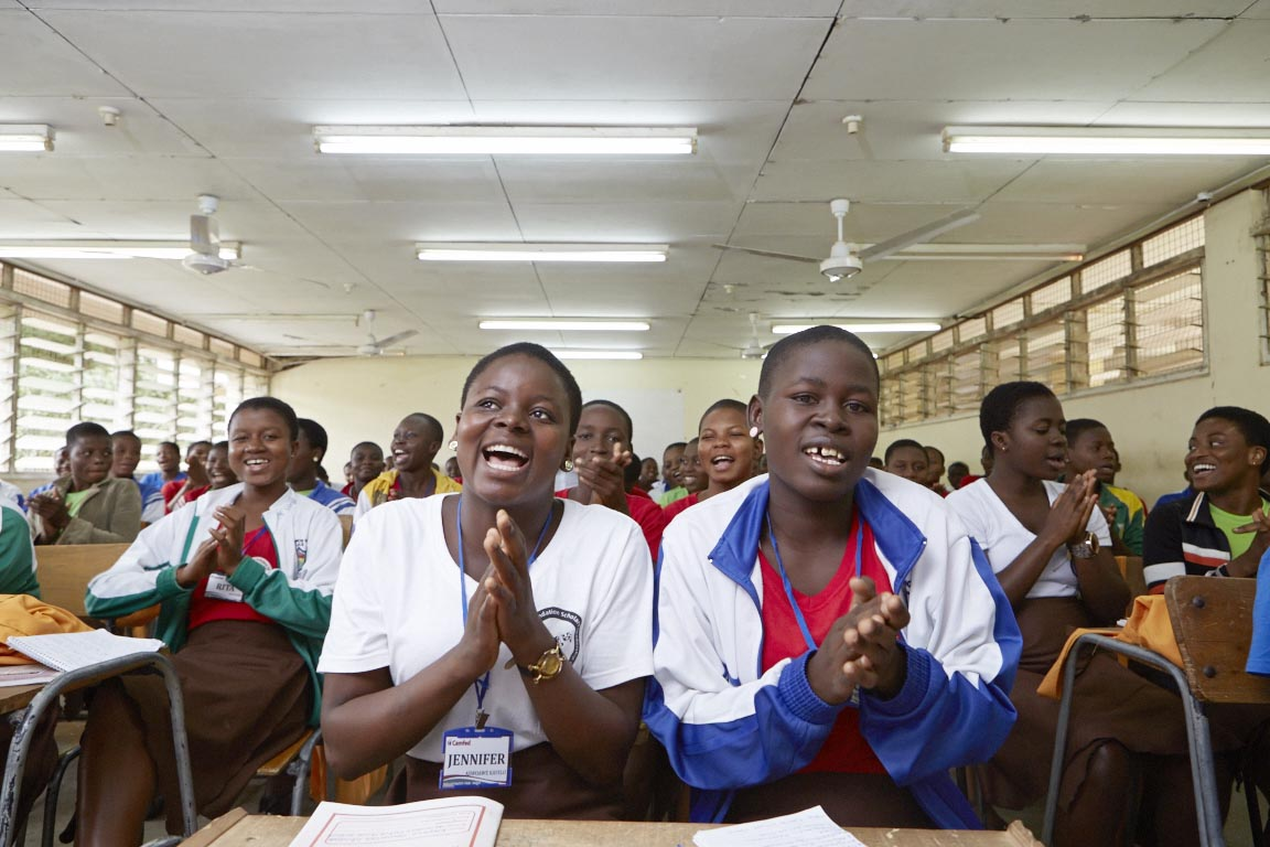 Camfed Ghana Organizes Leadership and Enrichment Camp for Girls