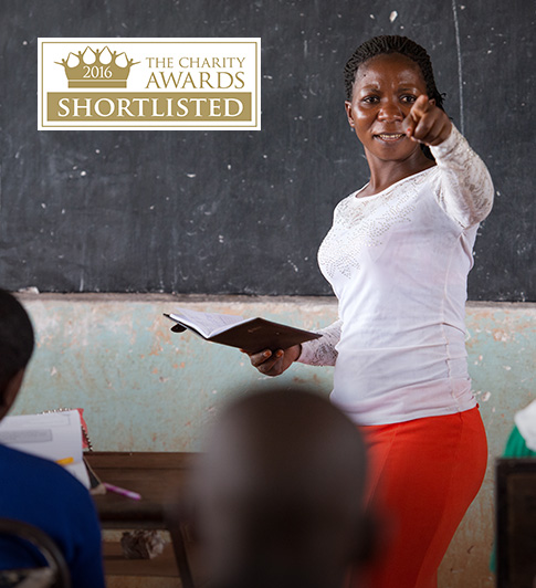 Camfed shortlisted for the Charity Awards 2016