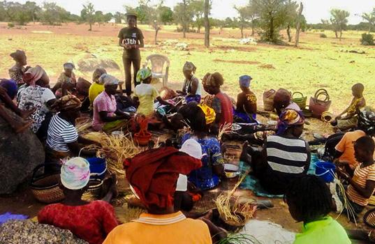Fighting poverty through women's empowerment