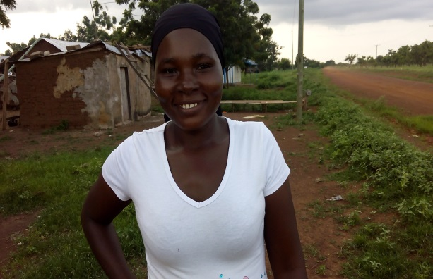 District Councillor and CAMA member Hawa Tambo in her community