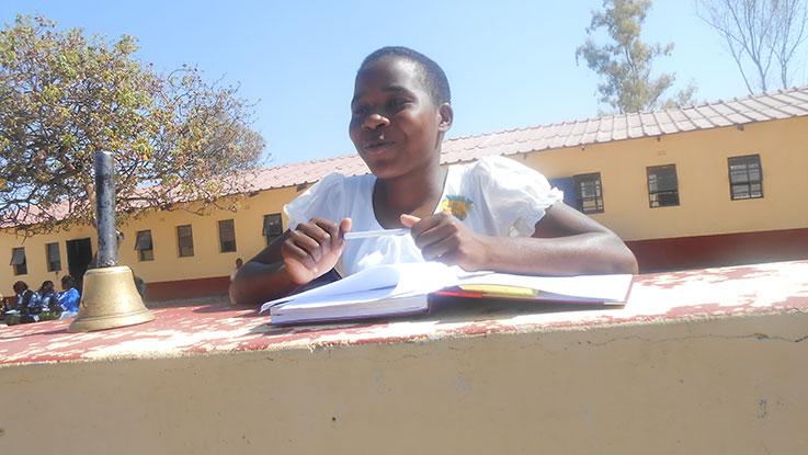 Natasha encourages district officials to educate marginalized children