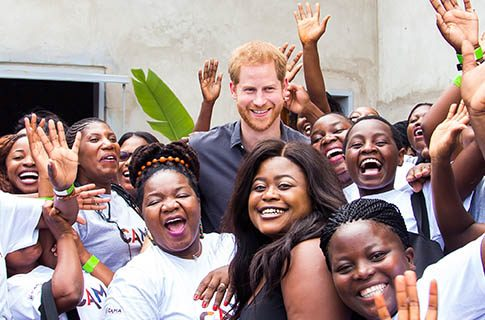 Prince Harry amplifies the power of CAMA