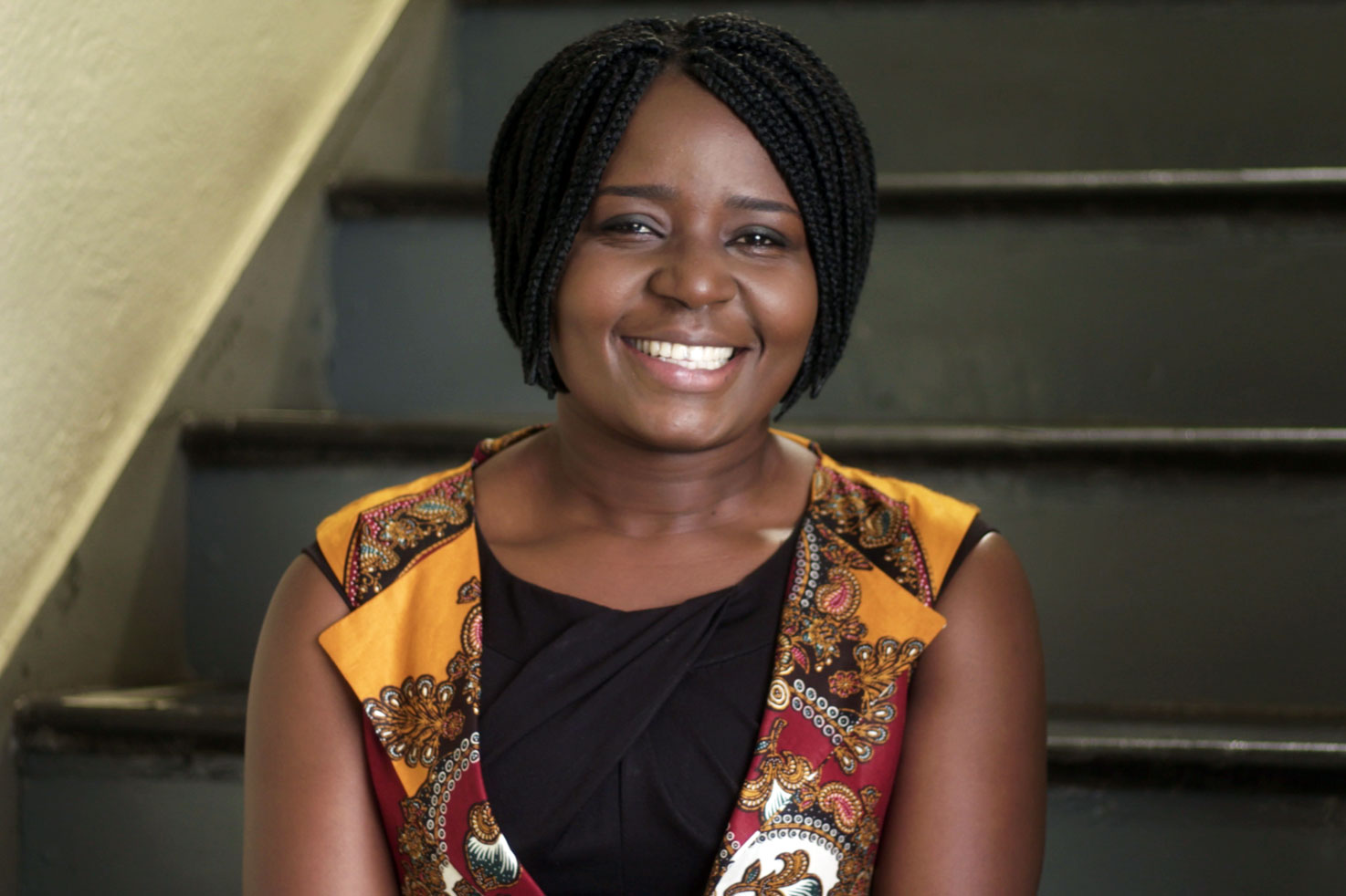 Abigail, supported through school by Camfed, now a leader