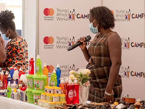 Entrepreneur Patricia speaks about launching her soap production business and overcoming early challenges.