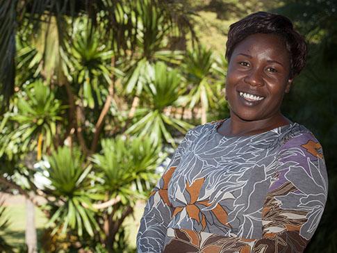 Primrose, a founding CAMA member, in Zimbabwe