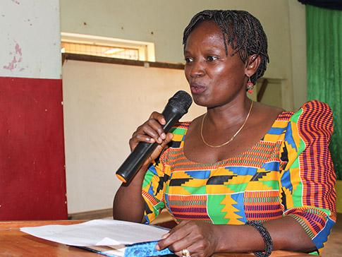 CAMFED Tanzania National Director Lydia Wilbard
