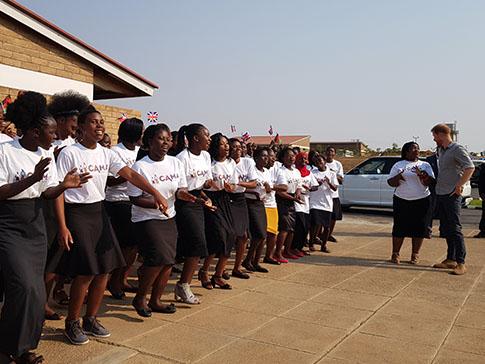 CAMA Malawi welcomes Prince Harry