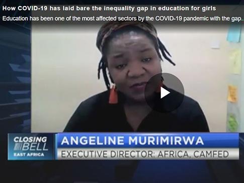CAMFED's Angeline Murimirwa on CNBC Africa
