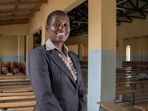 CAMFED Teacher Mentor Lucia
