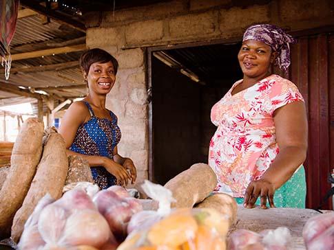 Camfed alumna Saviour, a successful entrepreneur