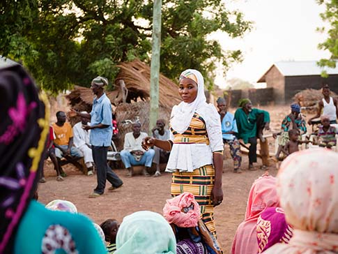 Camfed alumna Hawa, now a District Assemblyperson