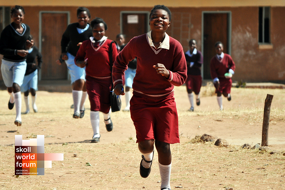 Delivering Girls' Education at Scale: Camfed at the Skoll World Forum