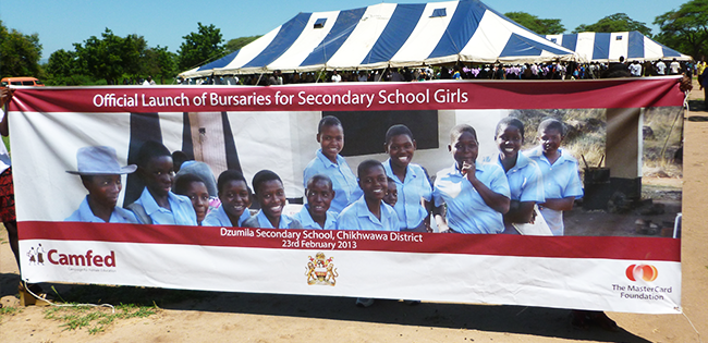 The Minister of Education launches partnership in Malawi