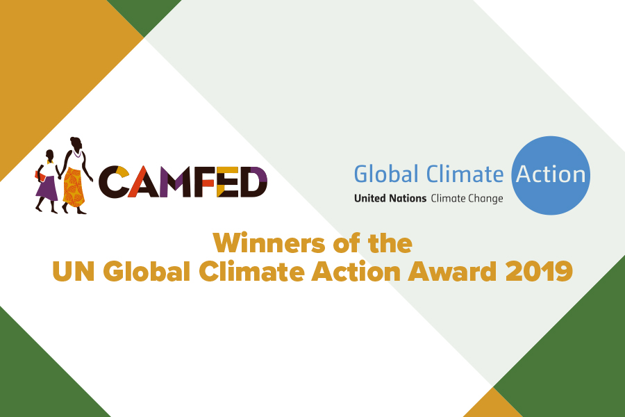 CAMFED - Winners of the UN Global Climate Action Award 2019